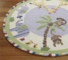 Jungle Nursery Theme & Jungle Friends Nursery | Pottery Barn Kids