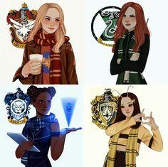 Magia Harry Potter, Cute Harry Potter, Harry Potter Artwork, Harry Potter Feels, Theme Harry Potter, Harry Potter Drawings, Harry Potter Tumblr, Harry Potter Outfits, Harry Potter Jokes