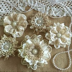 Lacey flowers