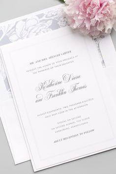 Stress Free Wedding Planning Ideas For Your Dream Wedding Classic Wedding Invitations, Wedding Stationary, Wedding Programs, Wedding Cards, Traditional Wedding Invitations, Free Wedding, Perfect Wedding, Our Wedding, Wedding Tips