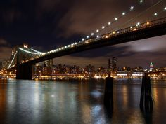 The Bridges of Kings County.Brooklyn by Dave Sribnik New York Minute, One Image, New York City, Brooklyn, United States, King, World, Places, Strength