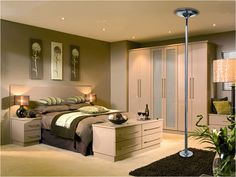 Dance Poles In Bedrooms