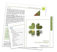 Filzanleitung Tannenbaum nassfilzen E-Book von FilzQuartett auf Etsy