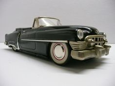 Cadillac Black Convertable Tinplate Friction