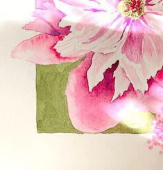 Peonies watercolor – with simple step instructions – Creative Club rnrnSource by renatelinke Watercolour Tutorials, Painting Tutorials, Watercolor Background, Peonies, Creative, Watercolor Paintings, Aurora Sleeping Beauty, Simple Watercolor, Watercolor Flowers