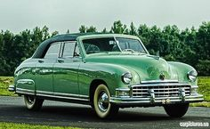 1950 Frazer Manhattan Sedan.....distinguished looking....