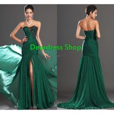 Evening dress formal dress ball dress prom dress bridal dress party... ($210) ❤ liked on Polyvore featuring dresses, green lace dress, bridesmaid dresses, lace bridesmaid dresses, green prom dresses and chiffon bridesmaid dresses