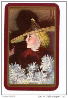 Vintage game card...
