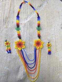 A personal favorite from my Etsy shop https://www.etsy.com/listing/255479493/alondrass-beaded-necklece-with-earrings