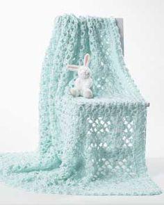 Crochet - Lacy baby blanket