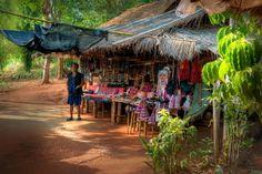 Plemiona górskie w Tajlandii.
