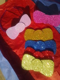 HELLO KITTY - Glitter Bow Headbands