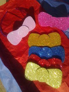 HELLO KITTY - Glitter Bow Headbands