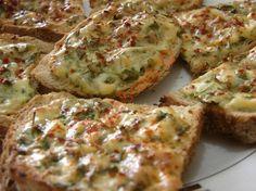 Maydanozlu Ekmek Dilimleri Resimli Tarifi - Yemek Tarifleri