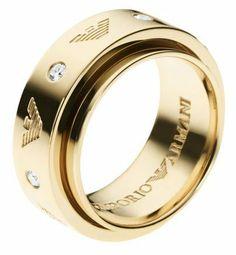 Emporio Armani Womens Rings EAG ARGENTO DONNA EG3051710508 $185.00 #EmporioArmani #Jewelry