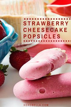 Strawberry Peach Popsicles | Peach Popsicles, Popsicles and Popsicle ...
