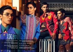 Batik, lookbook 2014, men's collection