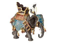 Animals & Dinosaurs Creative Spielfigur Elefant Elephant Aus Kunststoff L=14cm Strong Packing Action Figures