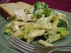 Chicken & Broccoli Penne Casserole