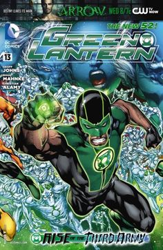 Green Lantern #13 #DC #GreenLantern (Cover Artist: Ivan Reis) On Sale: 10/3/2012