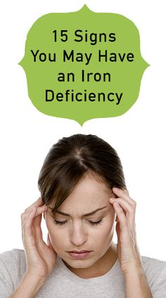 Iron deficiency is the most common nutritional deficiency in the United States, and women are among those at greatest risk. I have personally struggled with it, and the symptoms are no fun! Learn the signs and contact your doctor if you think you might be iron deficient.