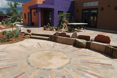 Our wonderfully landscaped Art Therapy complex...