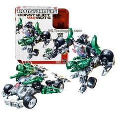 "Transformers Construct-Bots Series 6"" Tall Elite Class Figure Set - Autobot WHEELJACK with Vehicle Mode as Sports Car (Total Pieces: 55)"