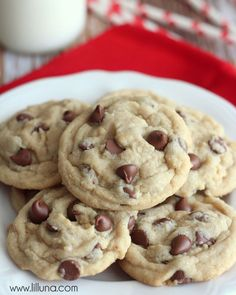 Always Soft Choclate Chip Cookies recipe (note: refrigerate before baking, need to bake closer to 10 min.)