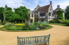 Scotney Castle Courtyard