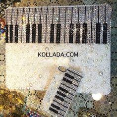 Diamond Key Artist Laptop Case - Bling Phone Cases