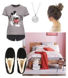"""""""Goodnight polyvore"""" by oliviagrace14 on Polyvore featuring Chupi, West Elm, UGG and Topshop"""