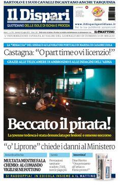 la copertina del 30 luglio 2015 #ischia #ildispari