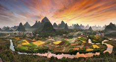 Peaks' forest_China by Daniel Metz on 500px