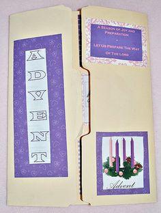 Catholic Advent Lapbook Printables