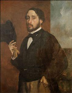 Self portrait or Degas Saluant (1863), Edgar Degas.jpg