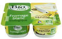 Fromage blanc bio vanille Bio nat'