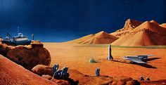 1956 ... exploration of Mars  space-exploration