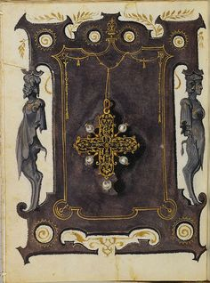 Jewel Book of the Duchess Anna of Bavaria (1550s) c   Flickr - Photo Sharing!