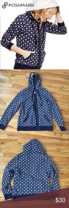Boden Sherpa Lined Zip Up Hoodie Jacket Pit to Pit: 20 in   Length: 24 in    Great condition! Please ask if you have any questions :) Boden Jackets & Coats