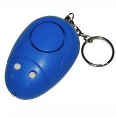 Buy hand held Self Defense Personal Alarm Key chain with light for your keys from U-Spy Store. Easily pull the pin or push the button and set it off when threatened. Security Tips, Security Alarm, Safety And Security, Security Products, Self Defense Weapons, Best Self Defense, Personal Security, Personal Safety, Spy Store