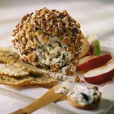 Olive Blue Cheese Pecan Ball Recipe | Key Ingredient