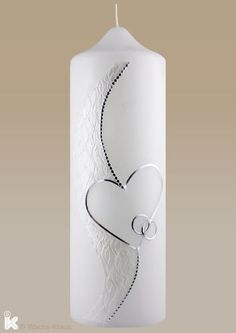 Candle Wedding Especially Fine Silver White Candle Wedding Especially Fine Silver White Kerze Hochzeit Besonders Feines Silber Weiss Candle Wedding Especially Fine Silver White Candle Wedding Especially Fine Silver White Concrete Candle Holders, Glass Candle, Candle Sconces, Candle Jars, Tea Candles, Beeswax Candles, White Candles, Diy Crafts To Do, Homemade Crafts