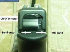 Glock full auto switch.