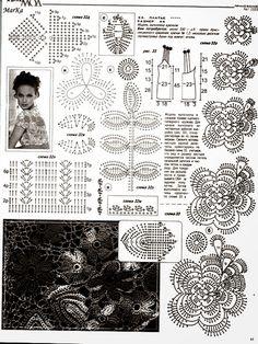 Solera de fiesta con diseño espectacular | Crochet y Dos agujas