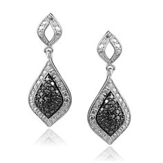 Brinley Co Black Diamond Sterling Silver Dangle Earrings	by Brinley Co - See more at: http://blackdiamondgemstone.com/jewelry/earrings/brinley-co-black-diamond-sterling-silver-dangle-earrings-com/#sthash.tvAX96lY.dpuf