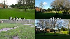 #arttragrass #beforeandafter #beforeafter #artificialgrass #arttraturf #london  www.artificialgrasstrader.co.uk