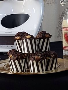 MUFFINS TRES CHOCOLATES Thermomix
