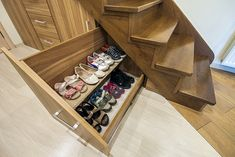 53 trendy Ideas for under stairs closet storage ideas shoe racks Understairs Sto. 53 trendy Ideas for under stairs closet storage ideas shoe racks Understairs Sto Understairs Storag Stairs Storage Drawers, Shoe Storage Under Stairs, Office Under Stairs, Kitchen Under Stairs, Bathroom Under Stairs, Staircase Storage, Shoe Shelves, Stair Storage, Storage Spaces