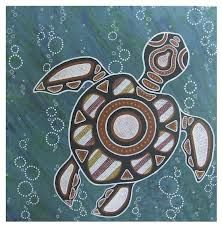 aboriginal turtle, as a tattoo