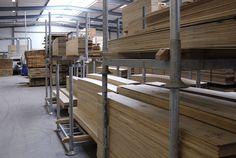Opslag houten vloeren